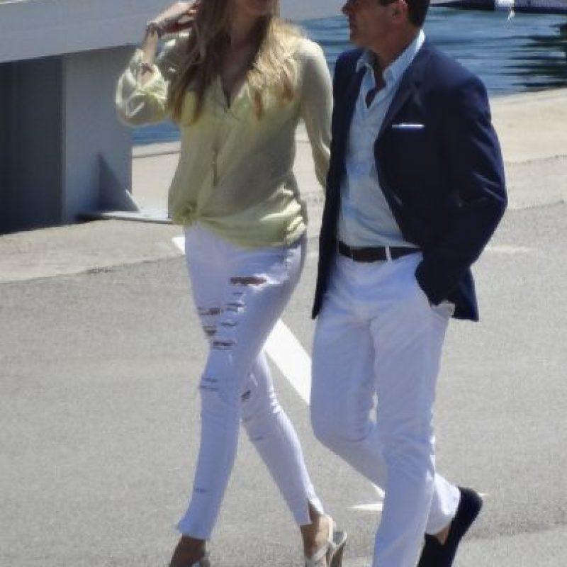 Antonio Banderas y Nicole Kimpel Foto:Grosby Group