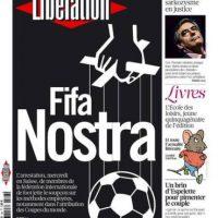 """Liberation (Francia): """"FIFA Nostra"""". Foto:liberation.fr"""
