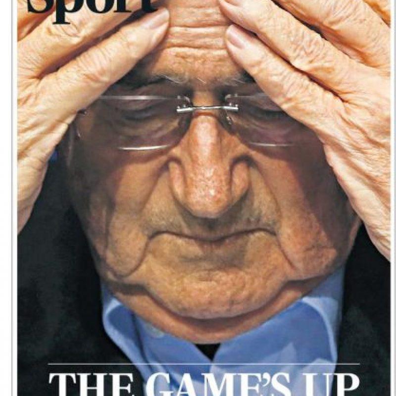 """Telegraph: """"El juego ha terminado"""". Foto:telegraph.co.uk"""