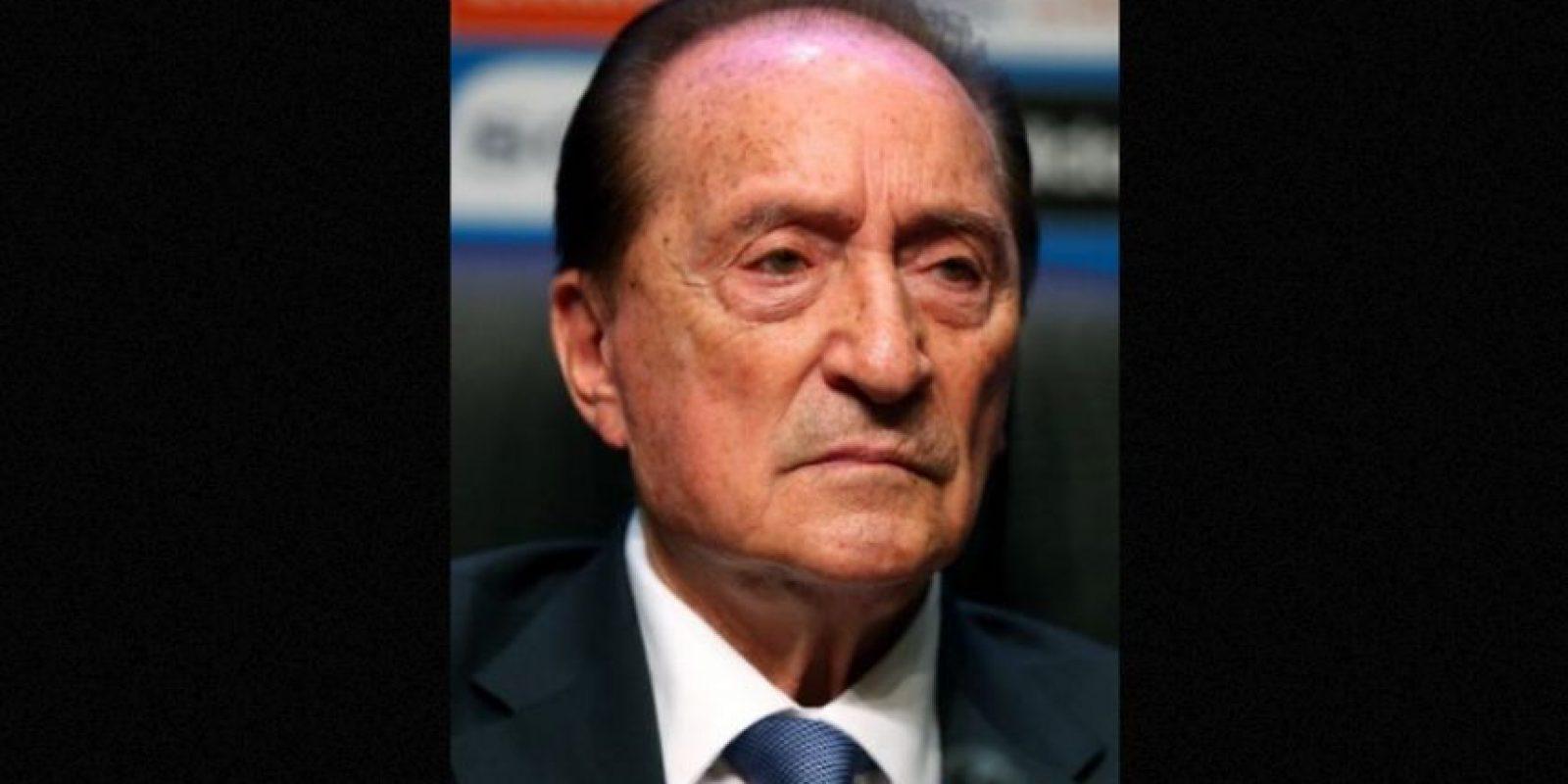 Eugenio Figueredo, actual vicepresidente de la FIFA y miembro del Comité Ejecutivo. Foto:Getty Images