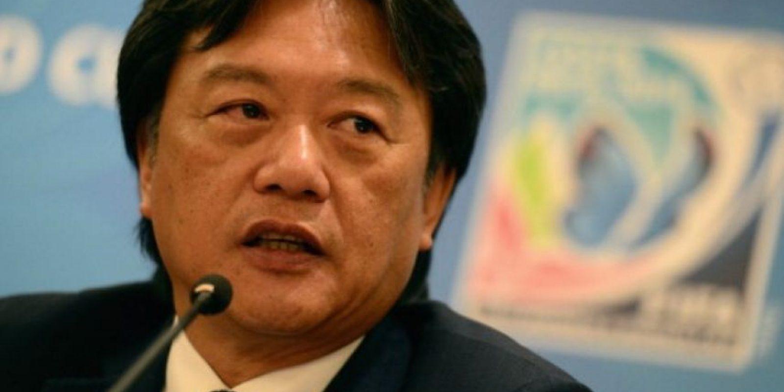Eduardo Li, actual miembro electo del Comité Ejecutivo de la FIFA. Foto:Getty Images