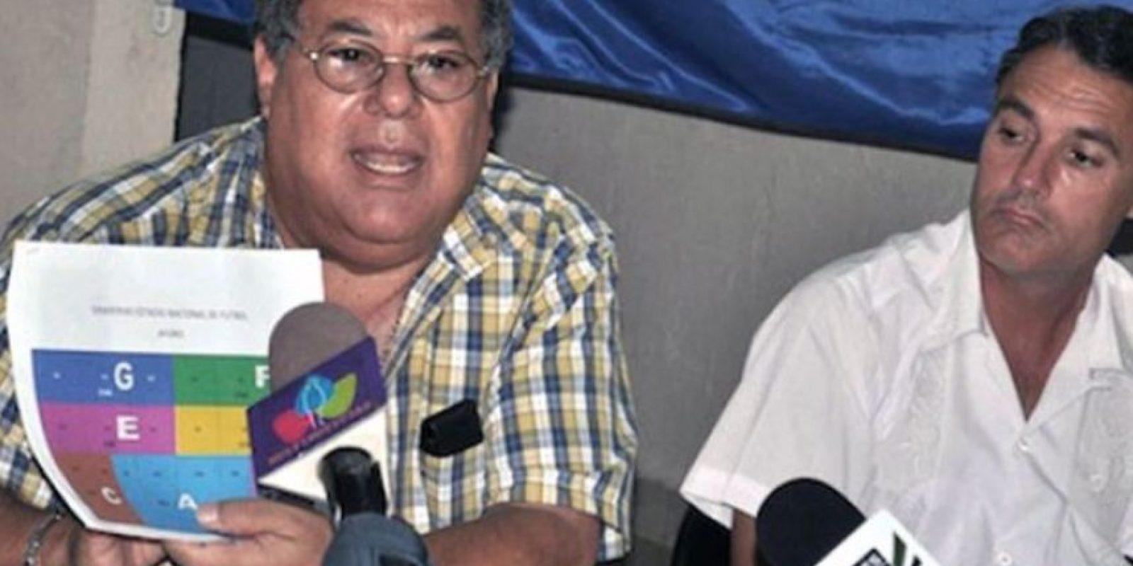 Julio Rocha, actual oficial de desarrollo de la FIFA. Foto:Getty Images