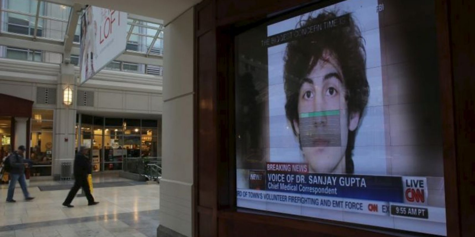 La sentencia formal para Tsarnaev se ha fijado para el 24 de junio a las 9:30 de la mañana hora local. Foto:Getty Images