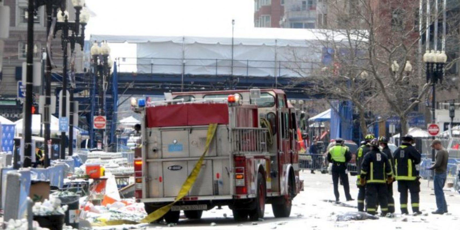 También falleció un policía en la detención de los hermanos Tsarnaev. Foto:Getty Images