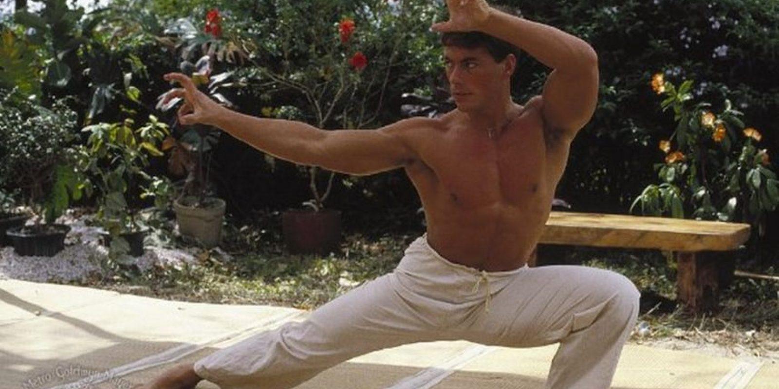 Se hizo famoso entre otras cosas por sus músculo Foto:Vía facebook.com/JCVDonline
