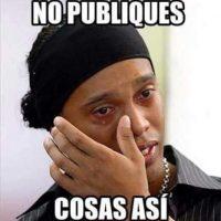 Los memes de Ronaldinho también son muy usados. Foto:vía Bullying Mexicano/Facebook