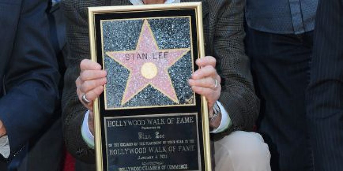 Stan Lee es el productor más exitoso de la historia del cine