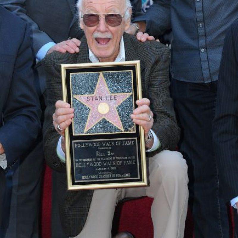 Stan Lee es el padre de los principales personajes de Marvel Foto:Getty Images