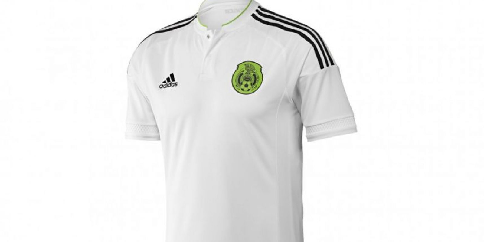 Y su uniforme de visitante será en blanco. Foto:Adidas
