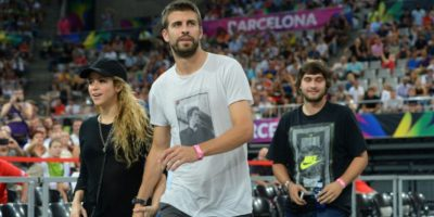 Shakira, novia de Gerrard Piqué. Foto:Getty Images