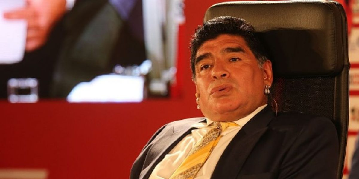 Maradona tilda a Marcelo Tinelli de