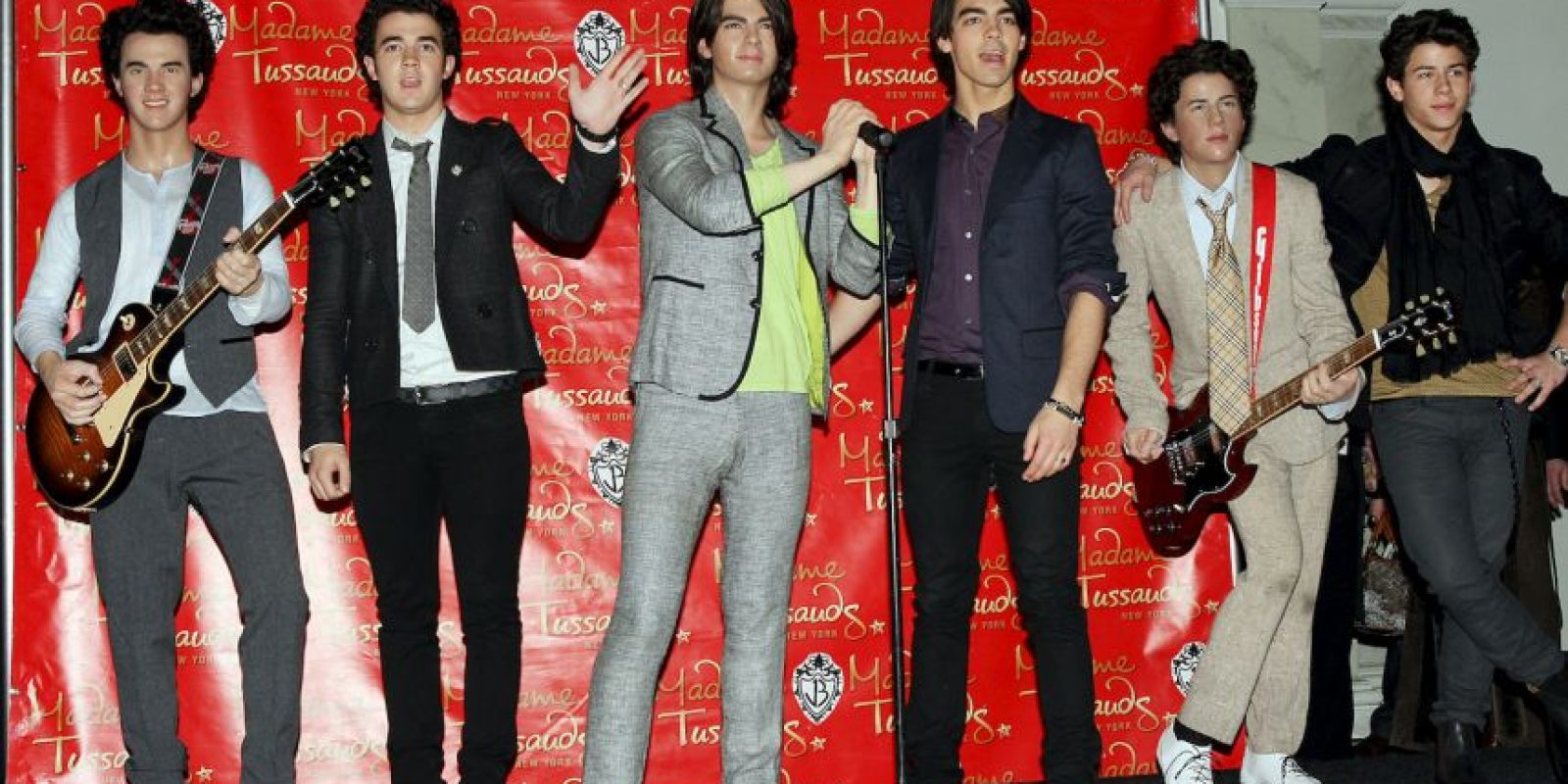 Kevin Jonas, Joe Jonas y Nick Jonas Foto:Getty Images