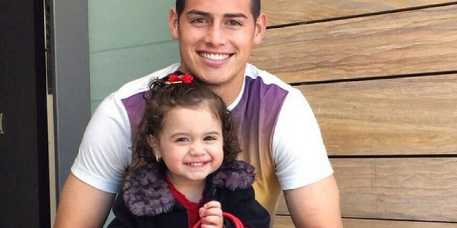 James y su hija Salomé Foto: Instagram