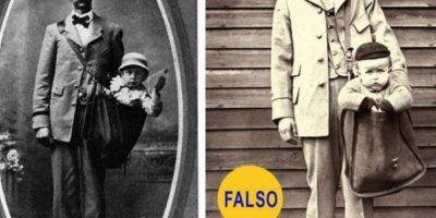 Niños enviados por correspondencia: La foto es real, pero la historia que cuenta no. Según Catherine Shteynberg, del museo Smithsonian, se trata de puestas en escena humorísticas. Foto:Flickr – Archivo
