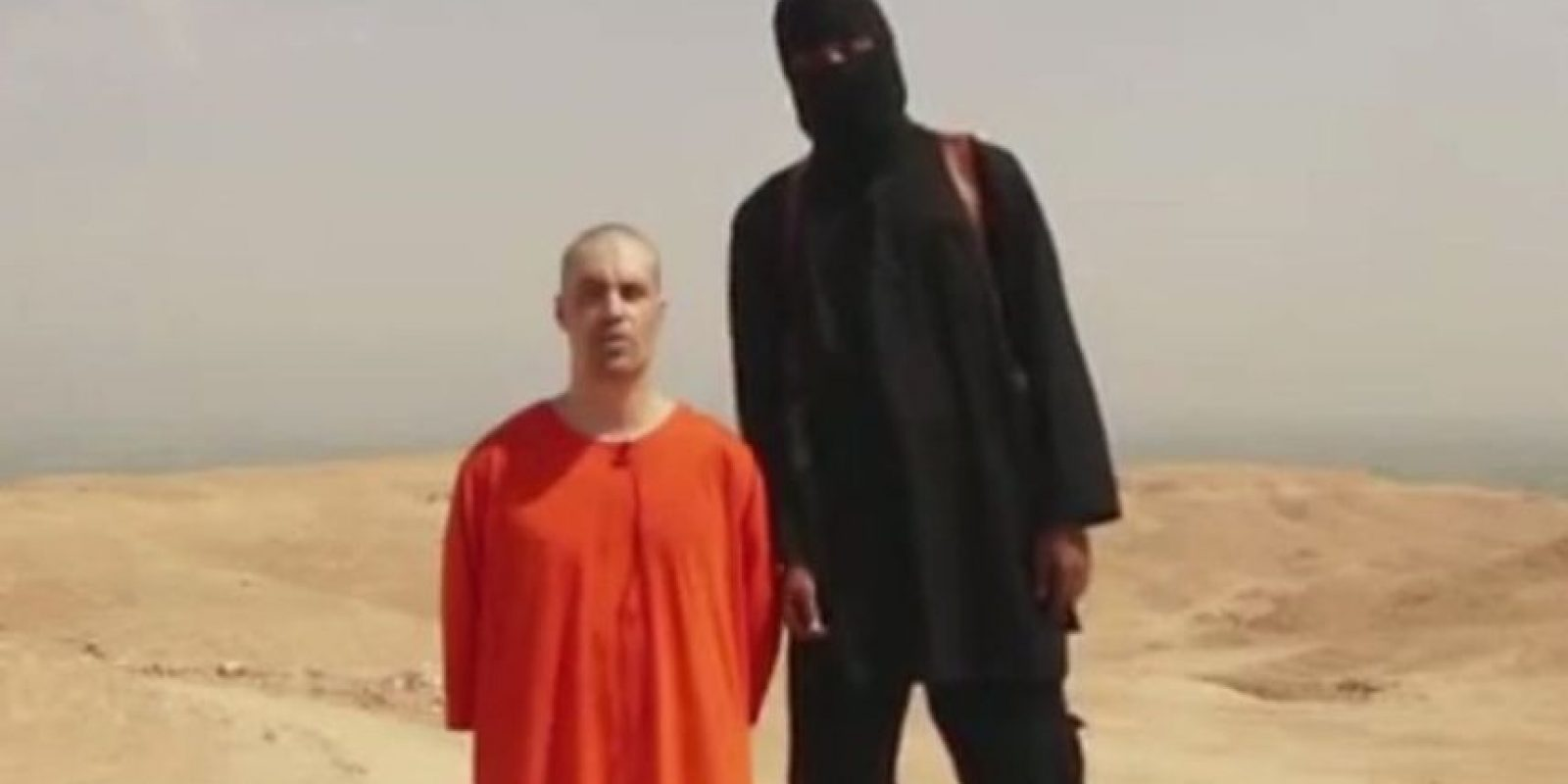 5. 19 de agosto: Decapitación del periodista James Foley Foto:AP
