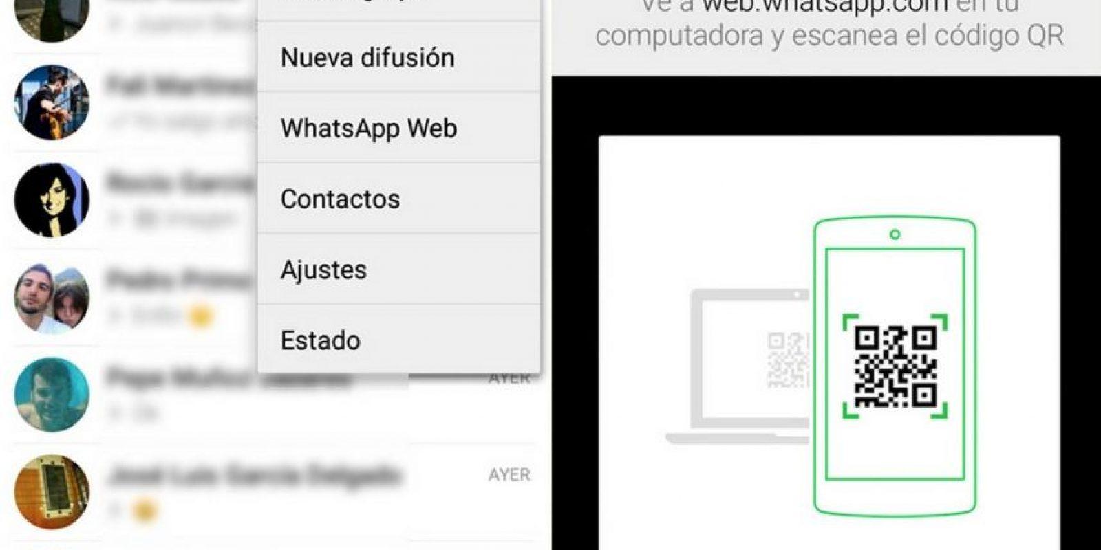 Dejar abierta su sesión de WhatsApp Web. Foto:Tumblr