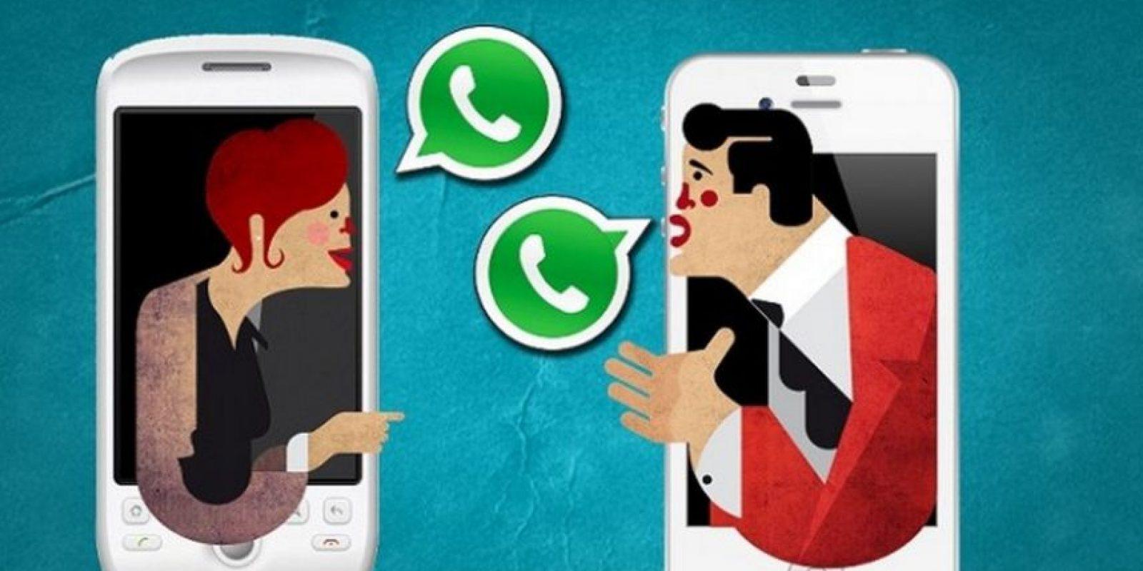A pesar de la seguridad de WhatsApp, se recomienda no hacerlo debido a que alguien podría hacer mal uso de sus datos, hackearlos, robar su información o estafarlos. Foto:Tumblr