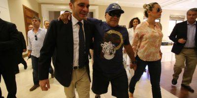 En cuanto a la FIFA, se sabe que Maradona apoya al príncipe Ali Bin Al Hussein, opositor de Joseph Blatter. Foto:vía Getty Images