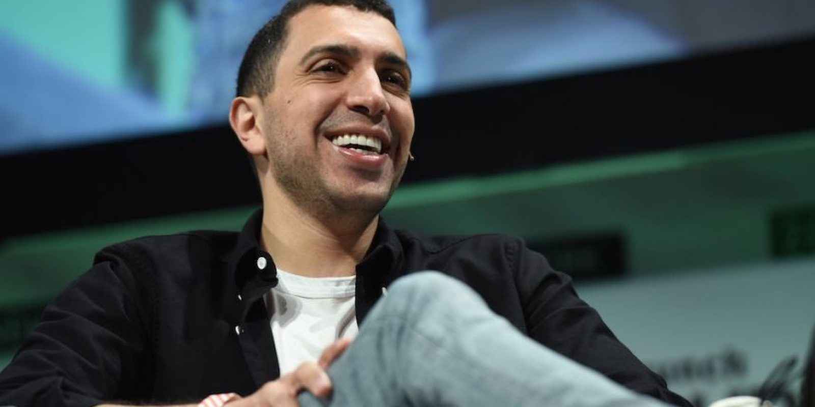 El estadounidense Sean Rad, de 28 años, es uno de los cofundadores de Tinder, una app lanzada en 2011 que permite conocer gente con base en sus preferencias. Foto:Getty Images