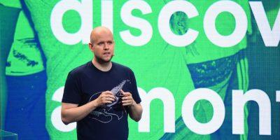 El sueco Daniel Ek, de 32 años de edad, cofundó en 2008 Spotify, el servicio que permite escuchar música en streaming. Foto:Getty Images