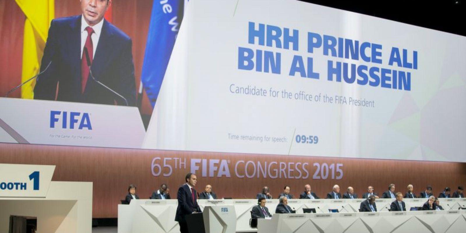 Príncipe Ali Bin Al-Hussein, candidato a la presidencia de la FIFA. Foto:Getty Images