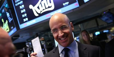 Riccardo Zacconi, de origen sueco, cofundó la compañía King, propietaria de Candy Crush, juego que tiene más de 150 millones de usuarios activos al mes. Foto:Getty Images