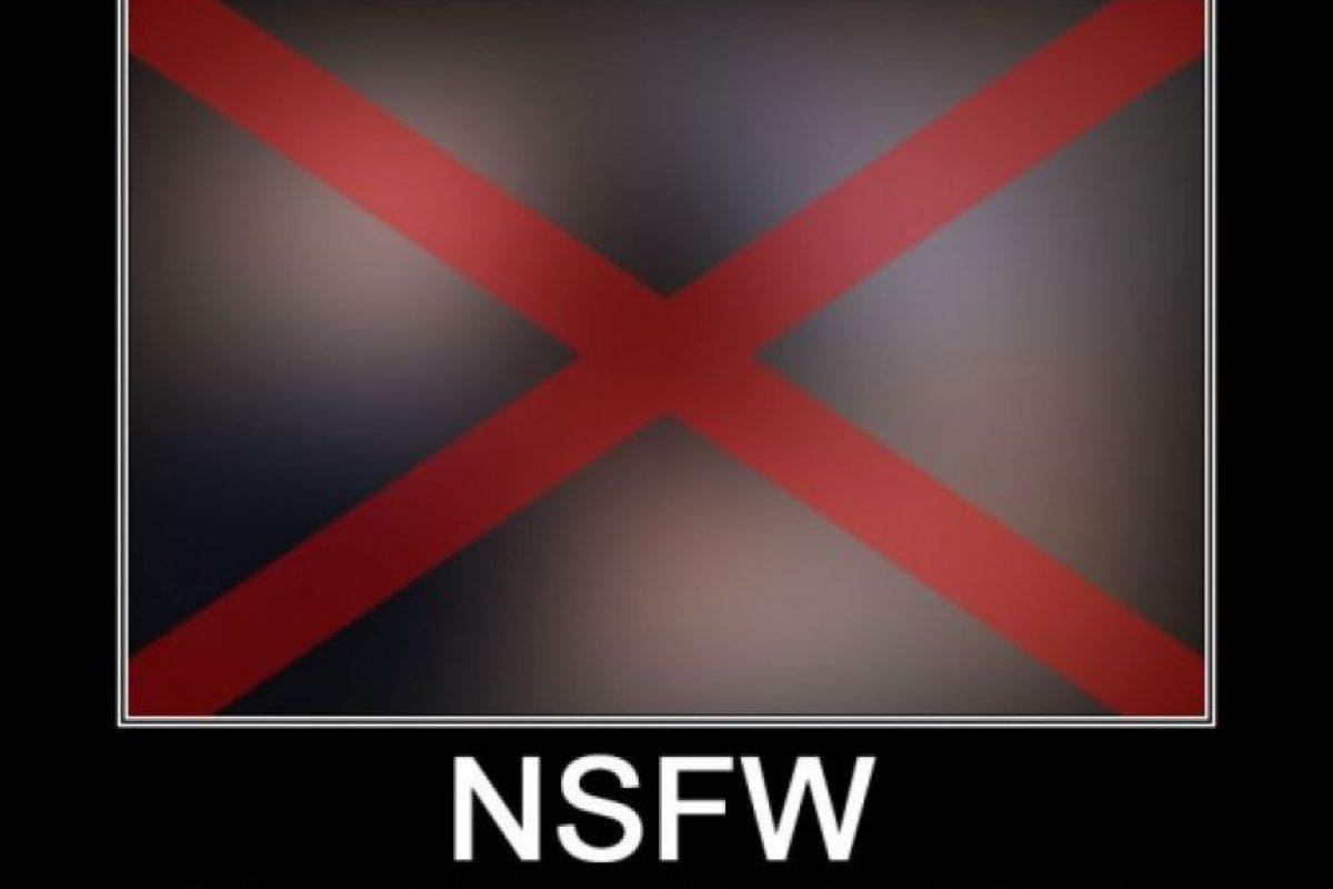 "1. ""NSFW"" Foto:Memegenerator.com"