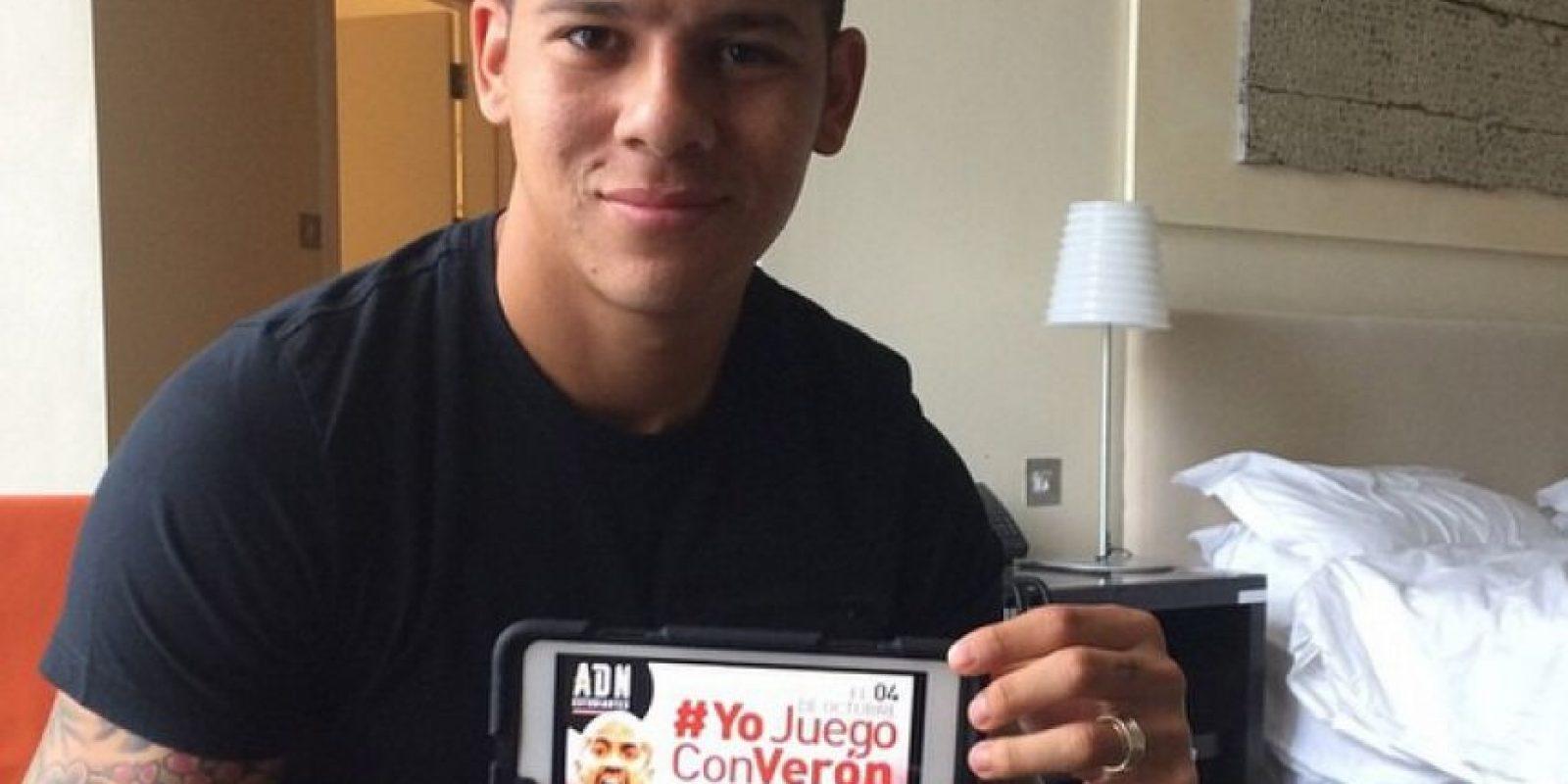 Con 25 años, Rojo se desempeña como defensa del Manchester United. Foto:Vía instagram.com/marcosrojo