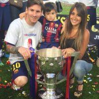 Antonella Roccuzzo, novia de Lionel Messi. Foto:Vía instagram.com/antoroccuzzo88