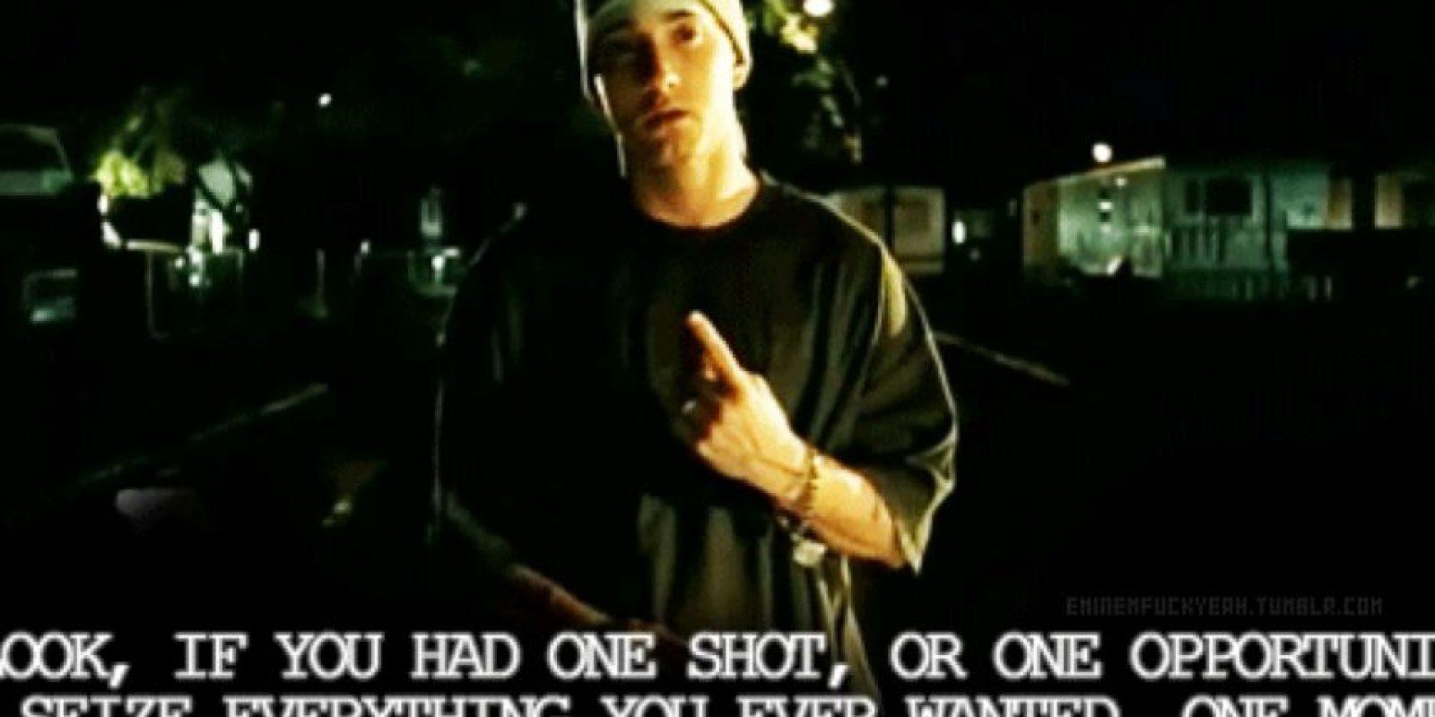 """El año pasado hizo un video con el """"hit"""" de Eminem en 2002, """"Loose Yourself"""". Foto:vía Tumblr"""