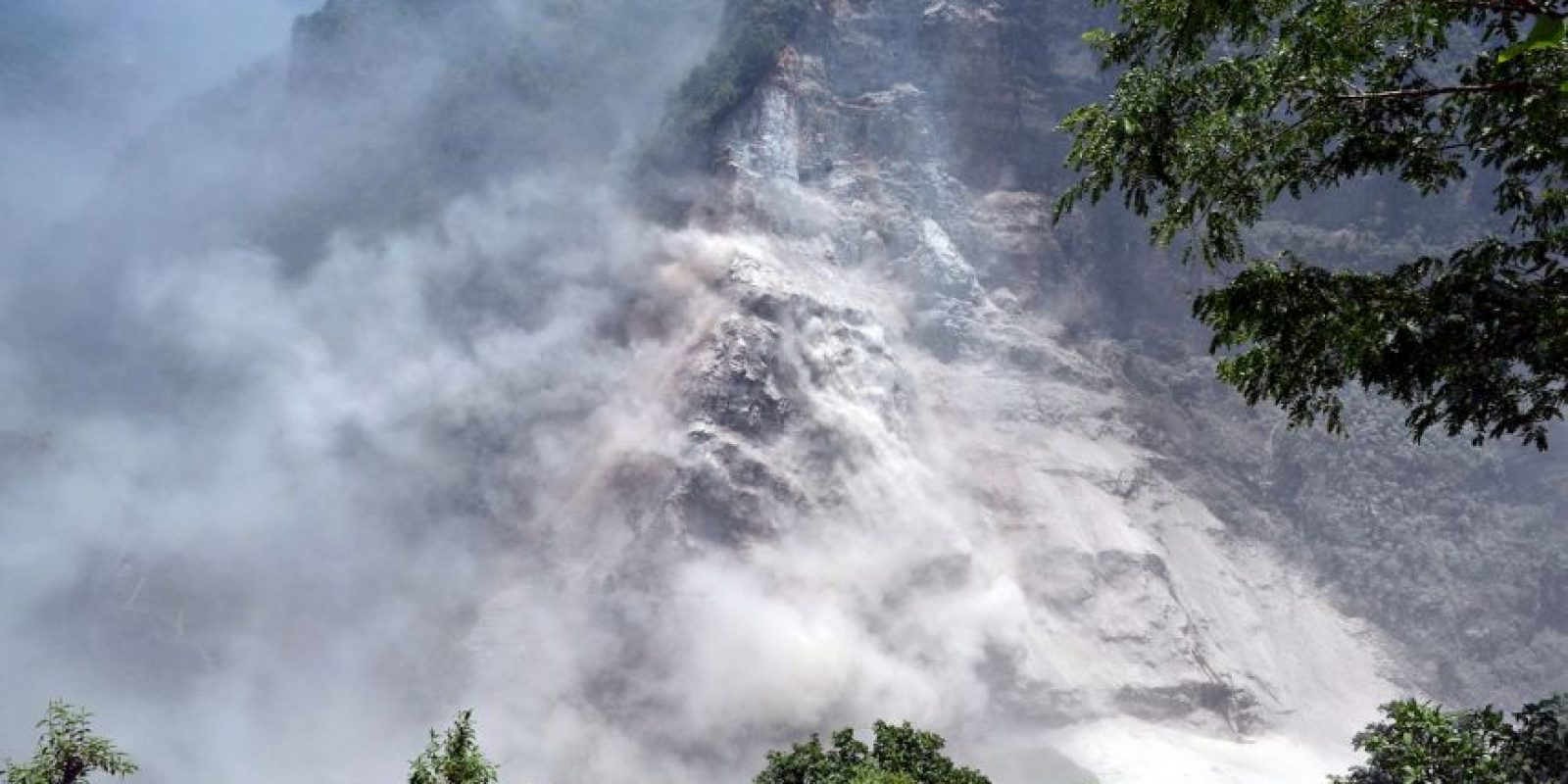 Paisaje en Nepal Foto:AFP