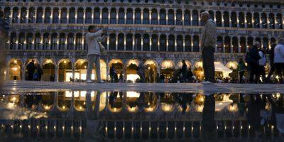 Turistas en Italia Foto:AFP