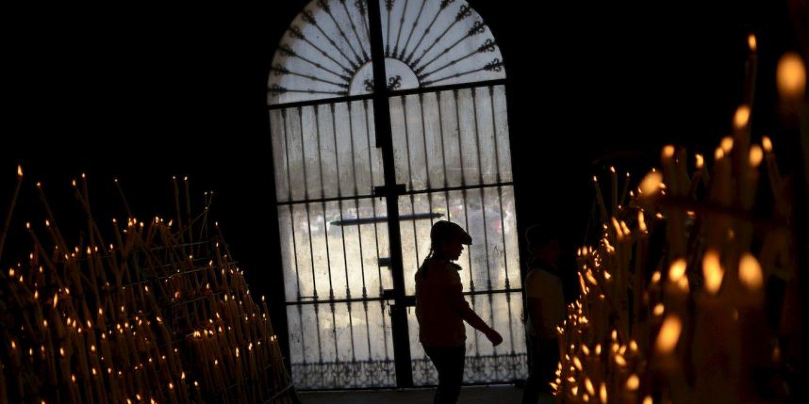 Peregrinación El Rocío en España. Foto:AFP