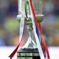 Así luce el trofeo de la Copa del Rey. Foto:Getty Images