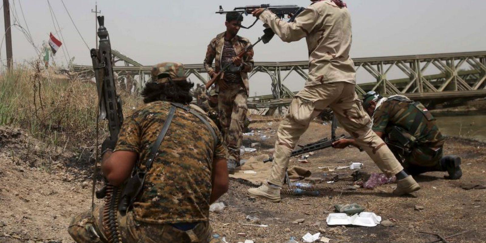 Conflicto en Irak Foto:AFP