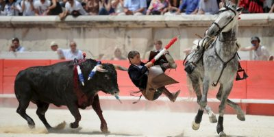 Feria de Pentecostés de Corrida de toros en Francia. Foto:AFP