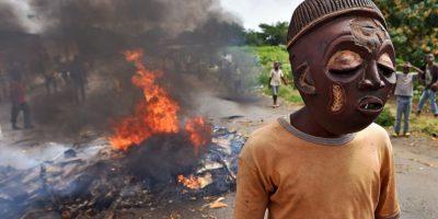 Protestas en Burundi. Foto:AFP