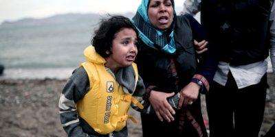 Inmigrantes en Grecia Foto:AFP