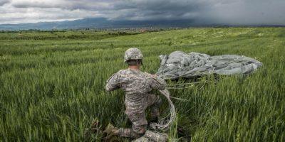 Militar estadounidense en Kosovo Foto:AFP