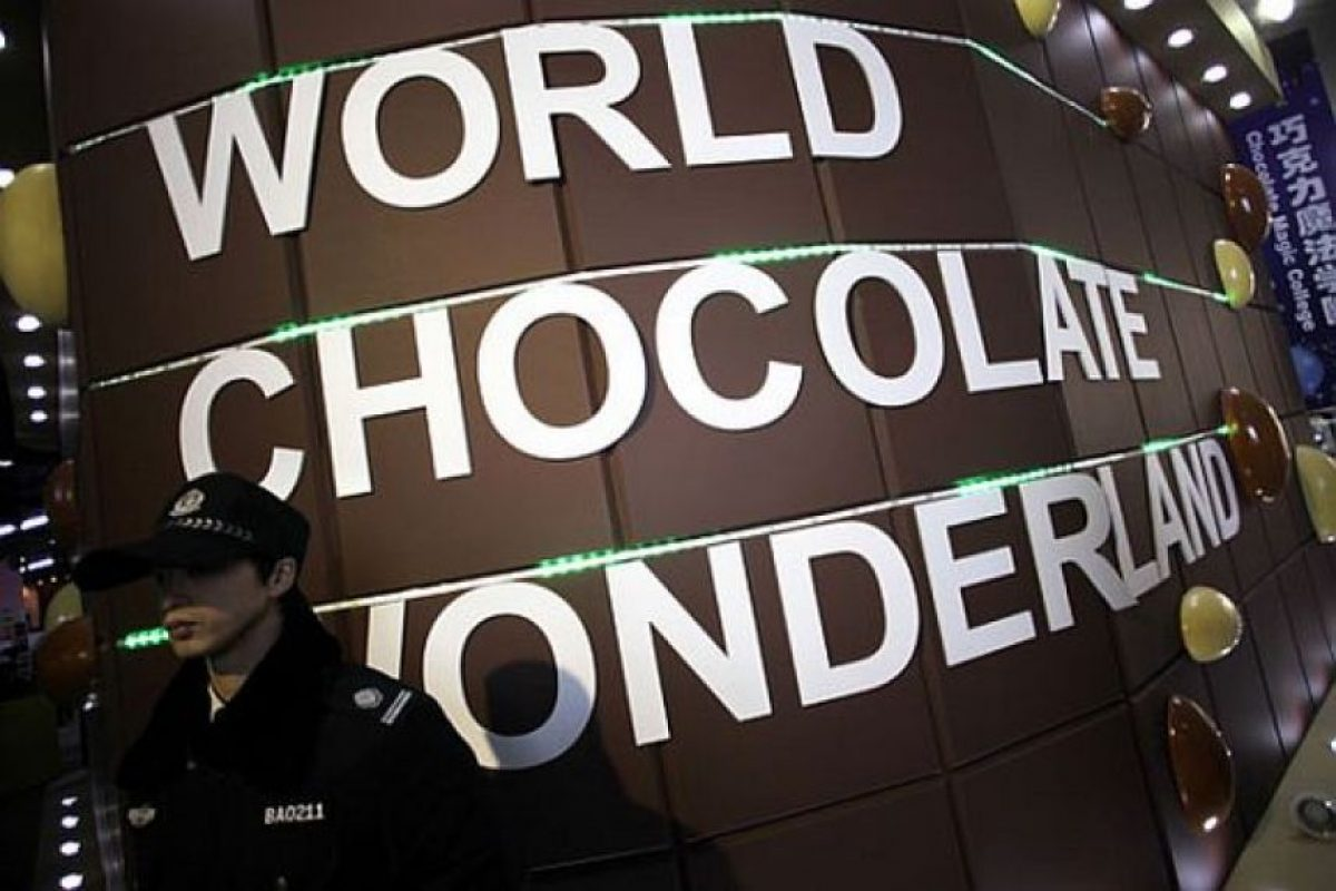 El Parque de Chocolate se creó en Shanghai en 2011. Foto:vía Getty Images