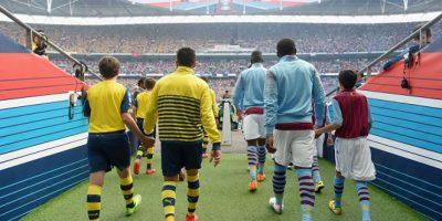 Así fue la salida de los futbolistas. Foto:Getty Images