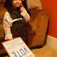 Como una de las primeras sufragistas. Foto:mycastleheart.wordpress.com