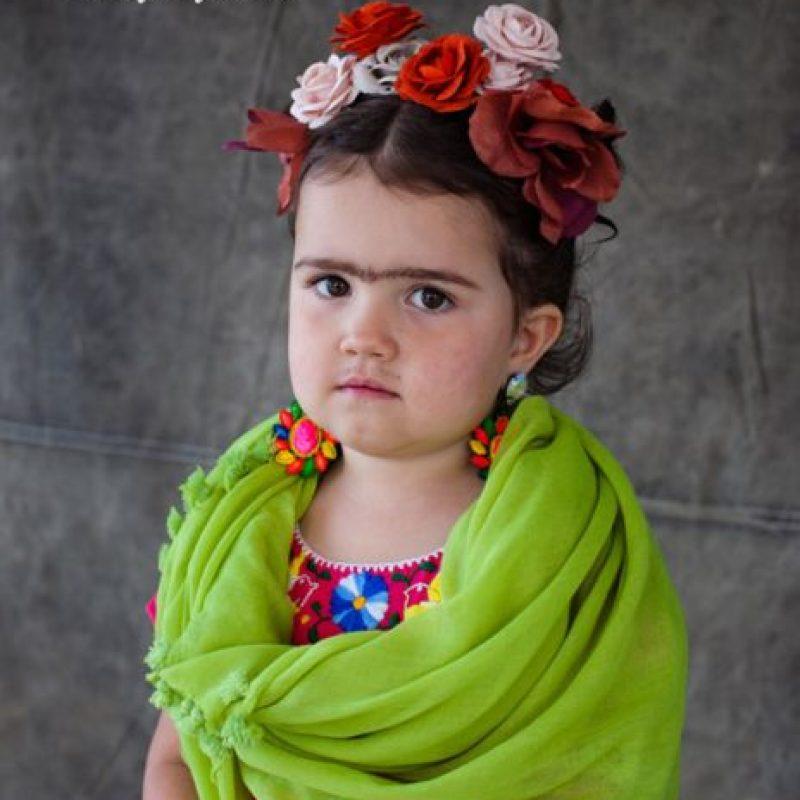 Frida, una infaltable. Foto:vía OhHappyDay