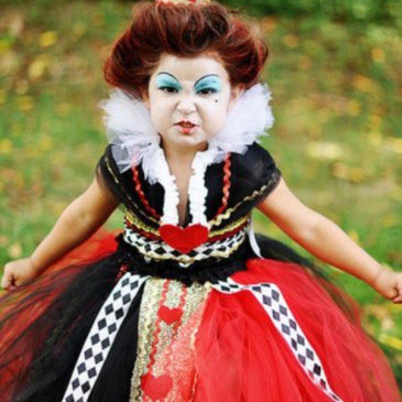 """Como la intransigente """"Reina de Corazones"""". Foto:vía Etsy"""