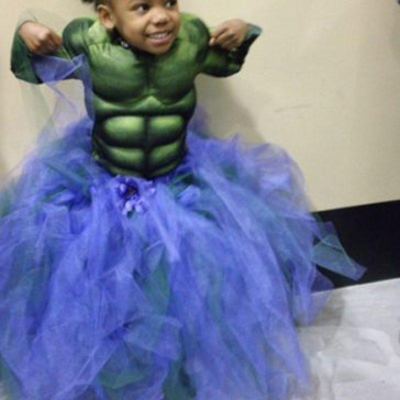 Como la Increíble Hulk. Foto:vía Bettersupes