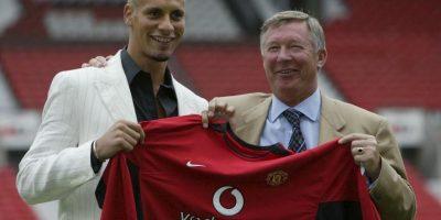 En 2002 llegó al Manchester United de Inglaterra. Foto:Getty Images