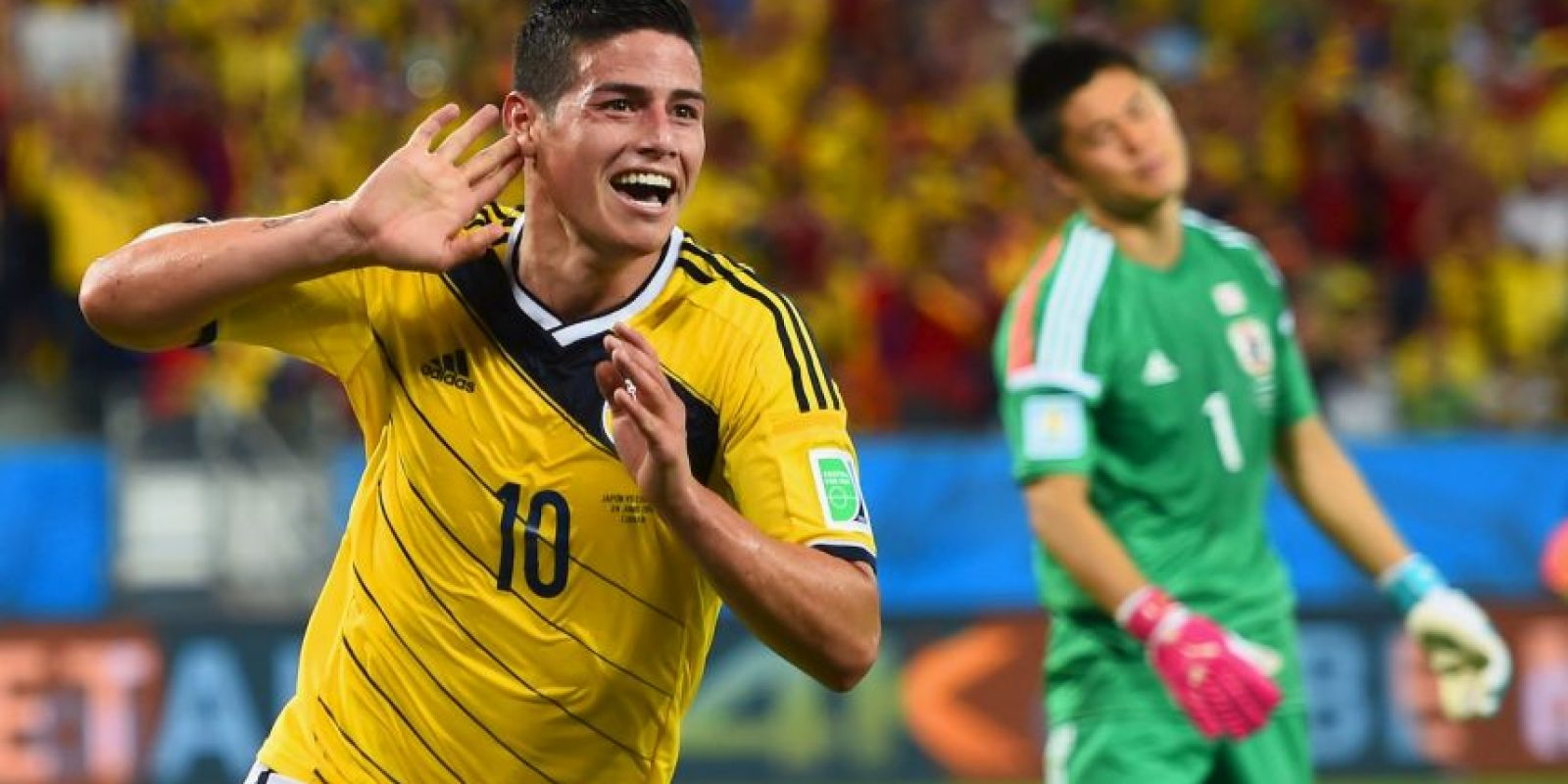 Figuras: James Rodríguez (Real Madrid) Foto: Getty Images