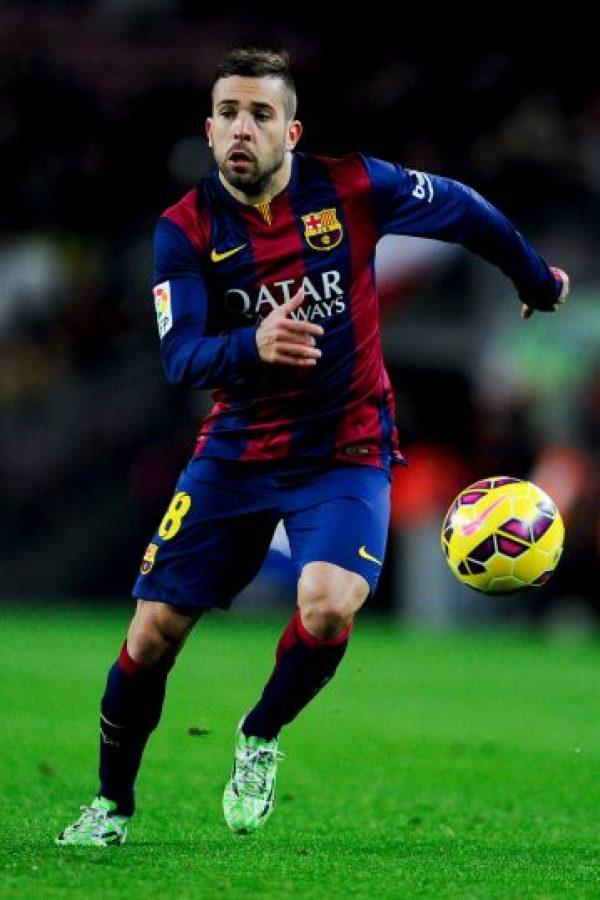 LATERAL IZQUIERDO: Jordi Alba (Barcelona) Foto:Getty Images