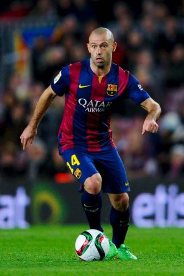 Defensas: Javier Mascherano Foto: Getty Images