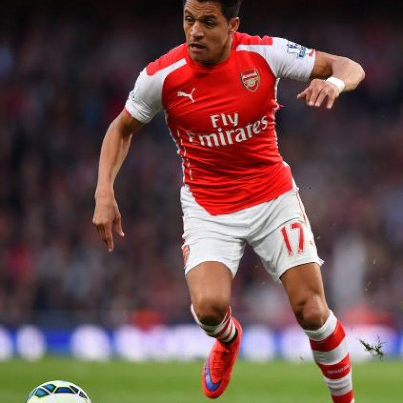 El delantero chileno Alexis Sánchez es la figura del Arsenal Foto:Getty Images
